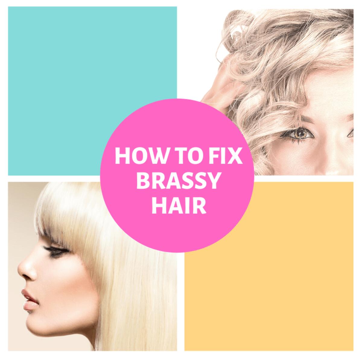 How To Get Rid Of Brassy Hair Bellatory