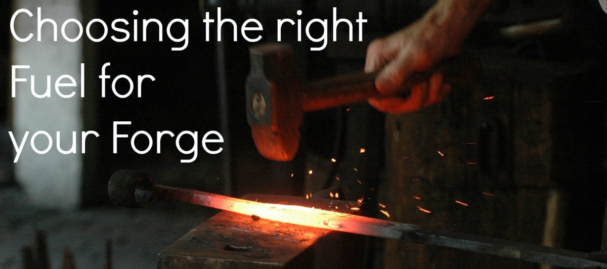 Basic Blacksmithing: Coal, Charcoal, or Propane for Forge Fuel