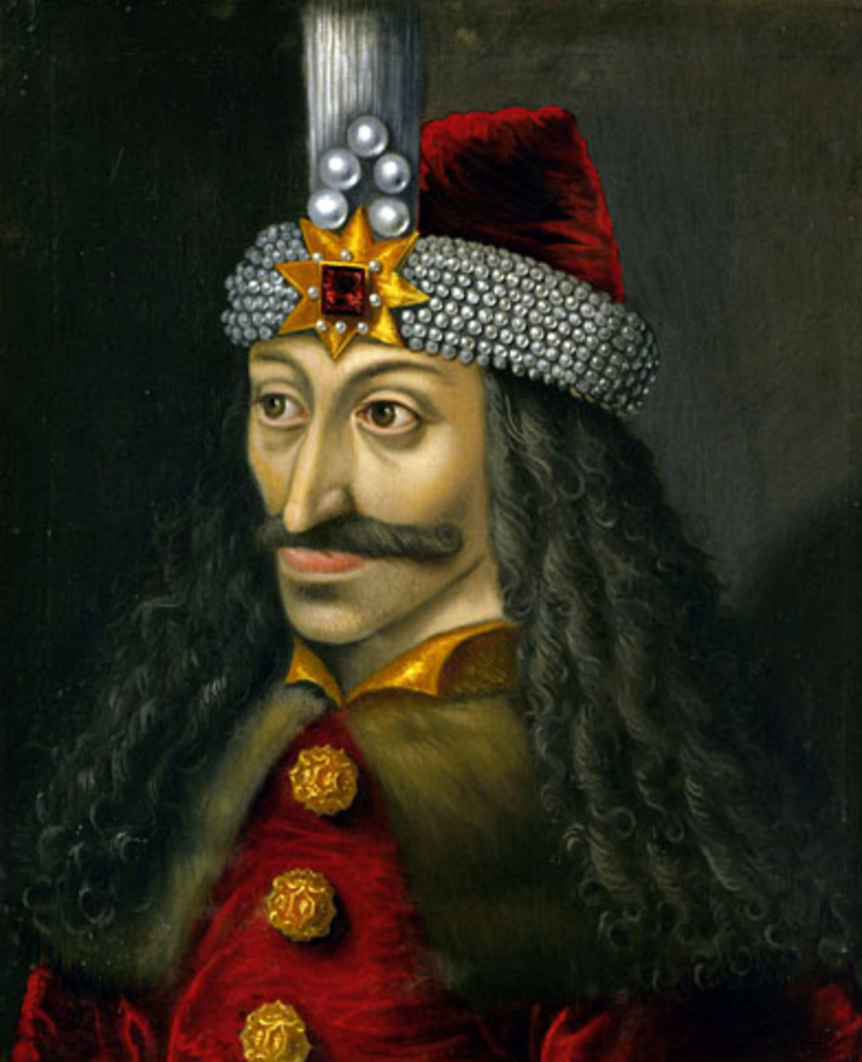 The Ambras Castle portrait of Vlad III, c. 1560