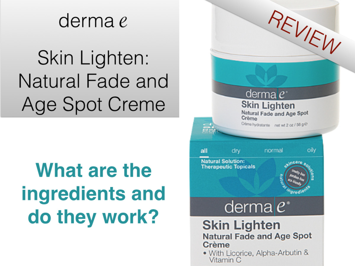 derma e Skin Lighten: Natural Fade and Age Spot Creme: A Review