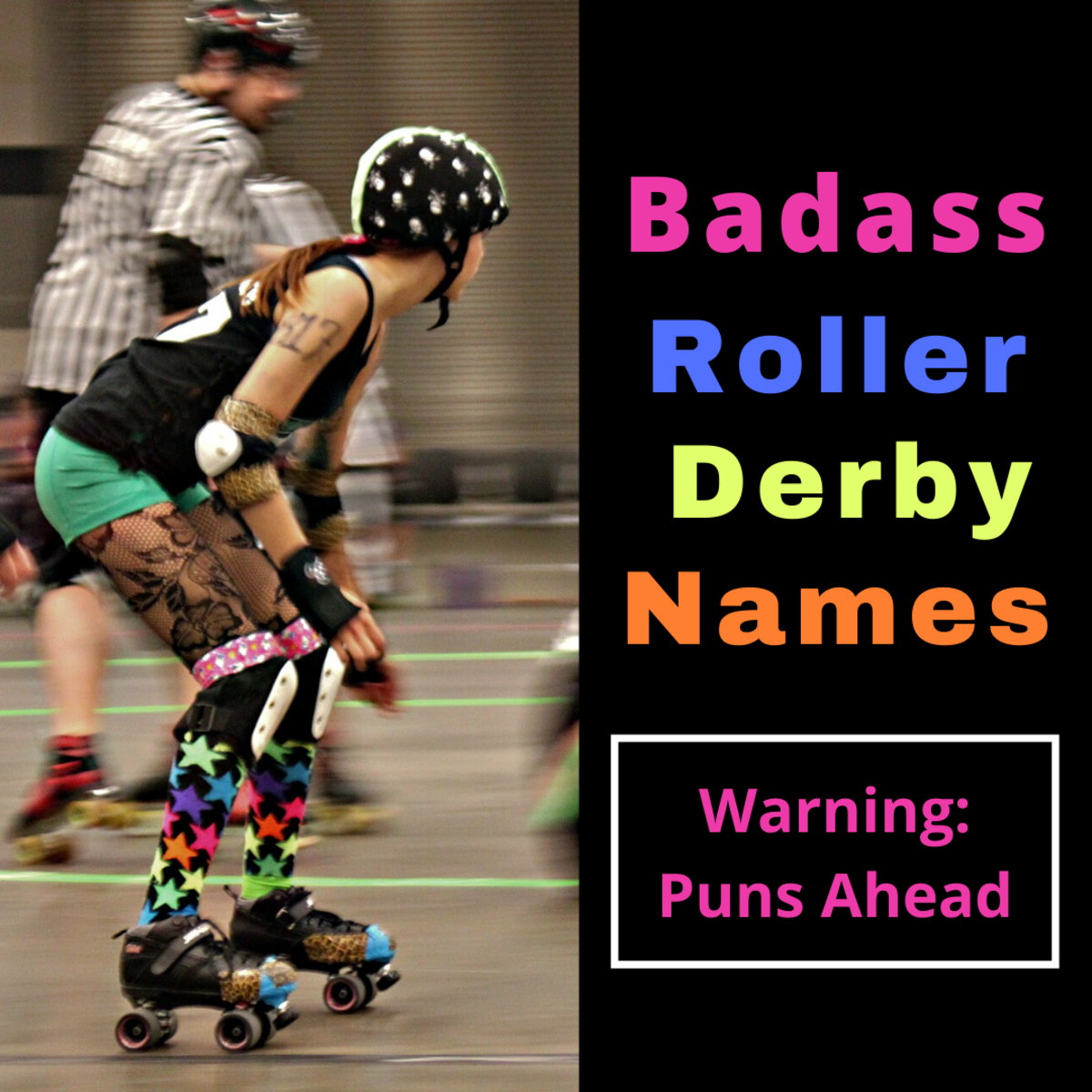 100+ Badass Roller Derby Names and Team Names
