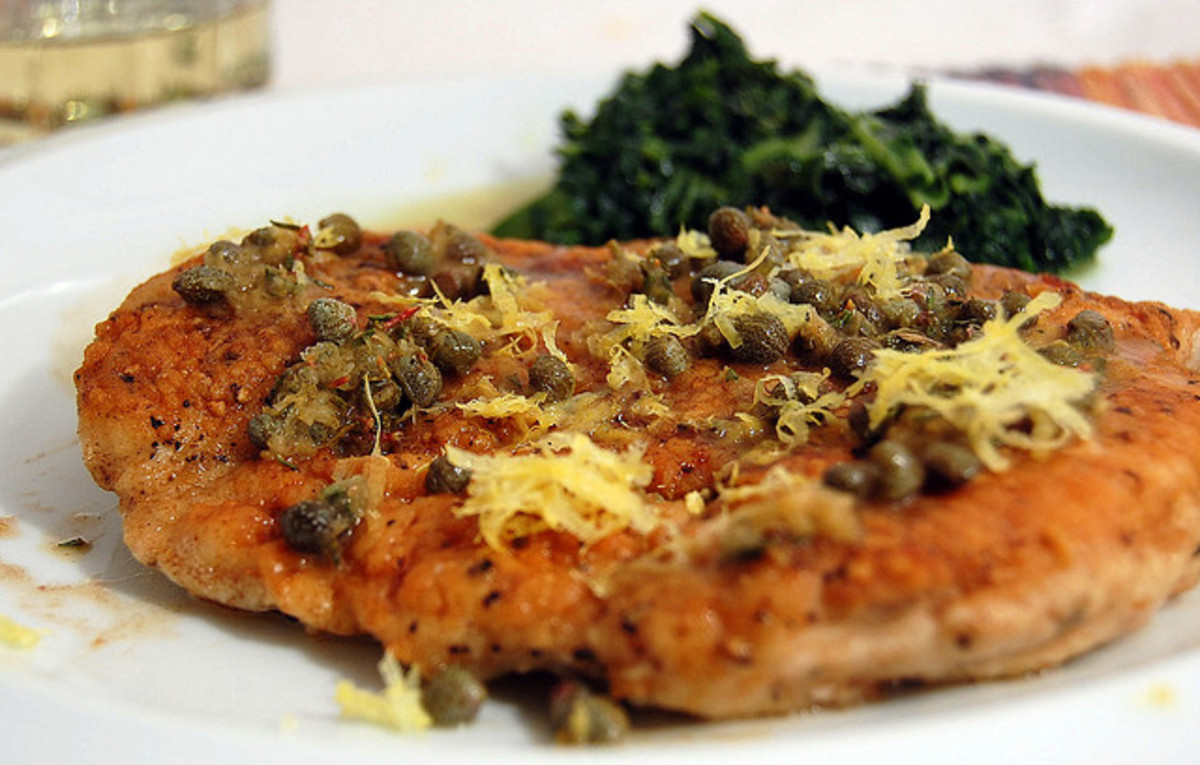 Tangy and succulent chicken piccata