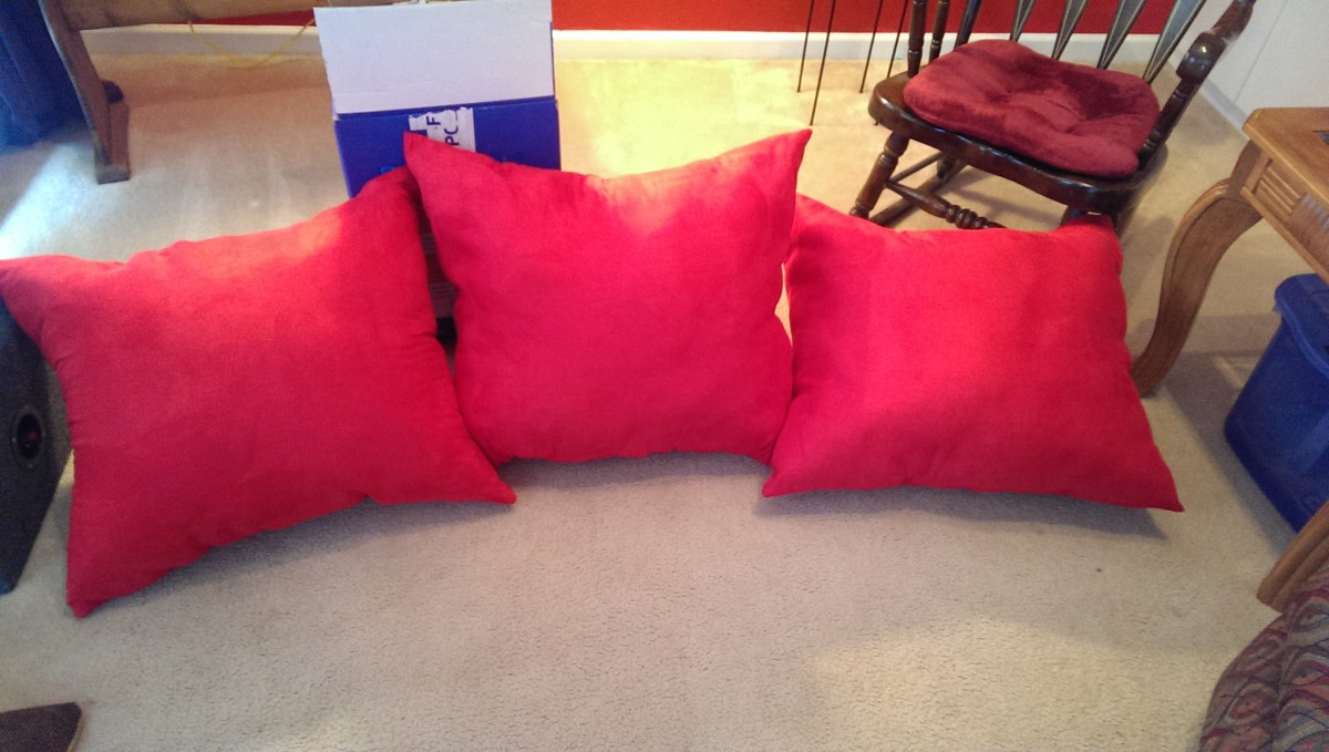 Finished pillows!