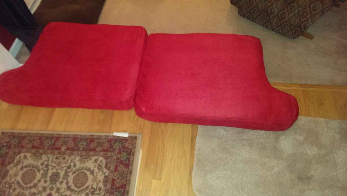 Finished seat cushions!