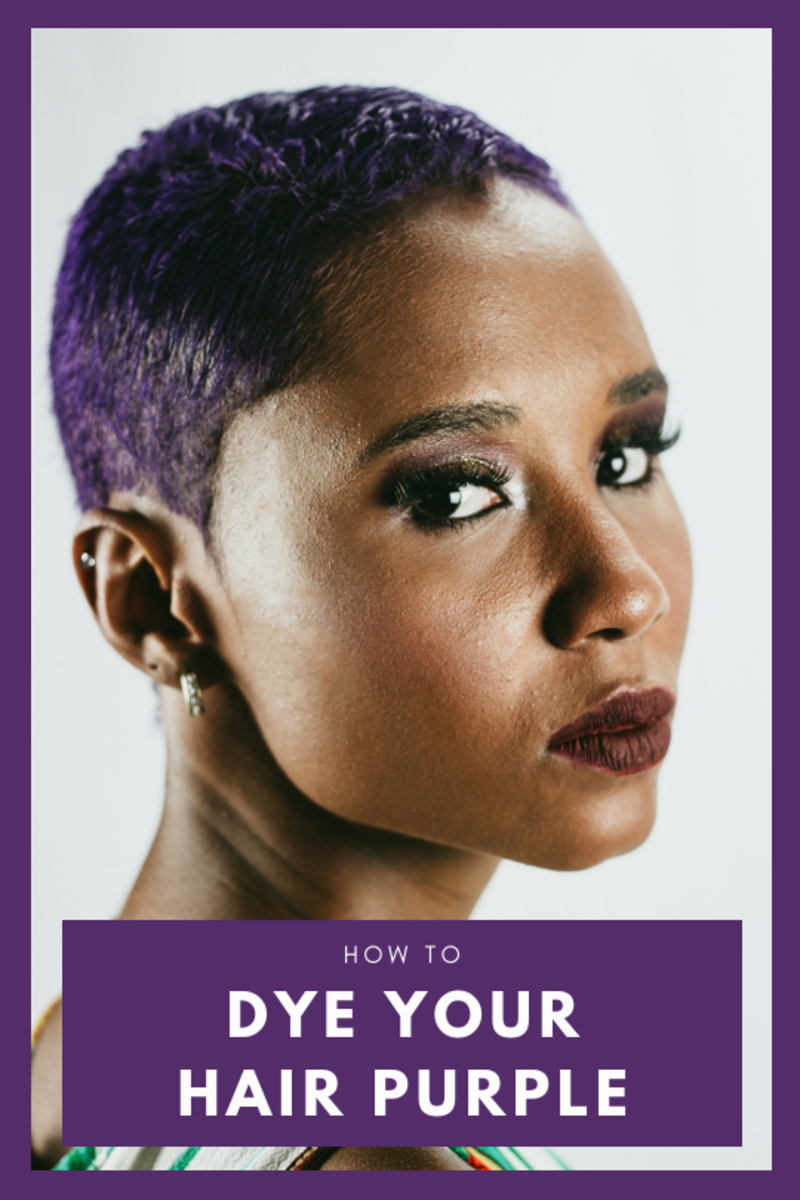 This article will tell you everything you need to know to dye your hair all kinds of shades of purple, as well as how to care for your hair so that those colors stay as long as possible.