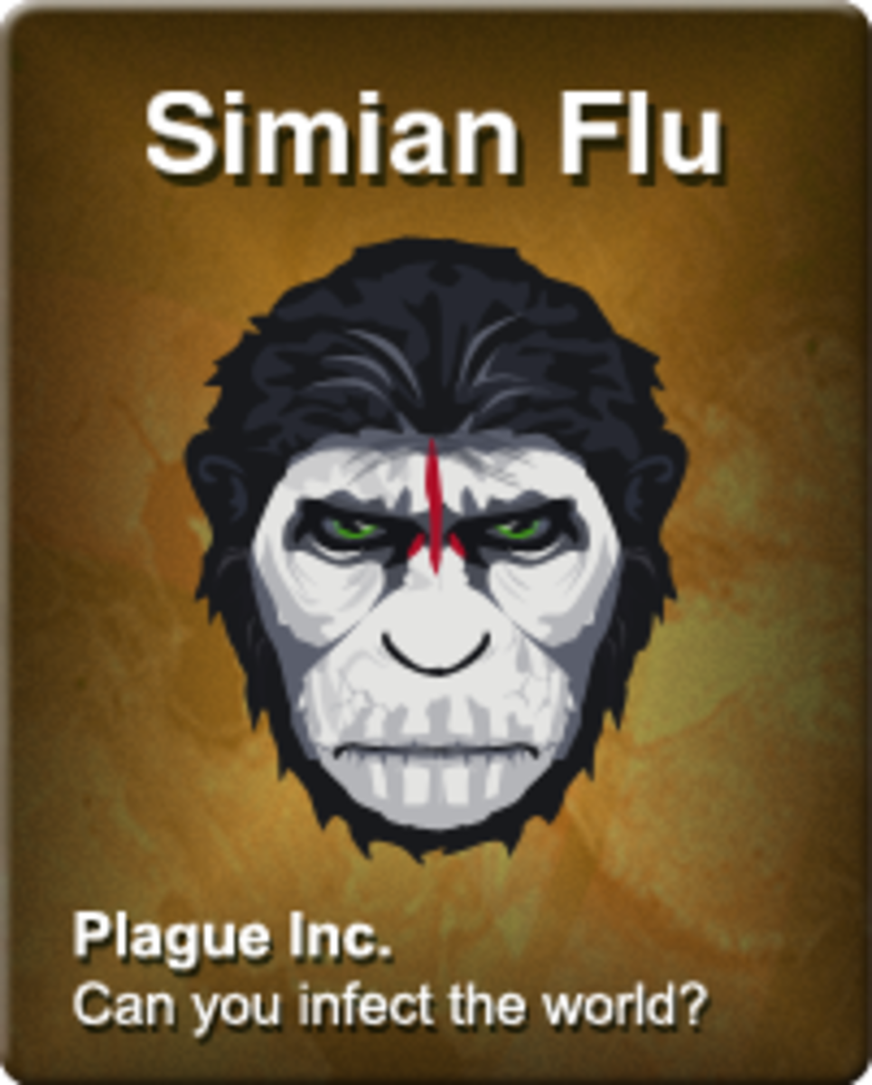 Plague Inc. Evolved: Simian Flu on Normal