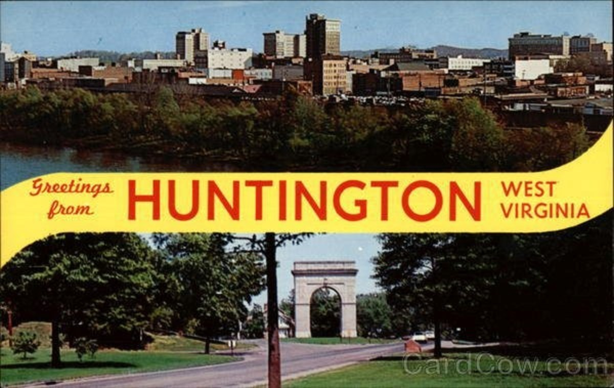 Memories Of Huntington, WV