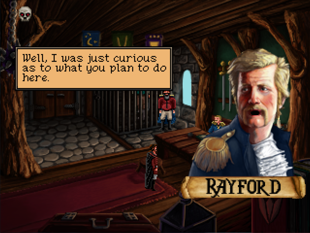 Quest for Infamy Walkthrough, Act One - Part Two: Kayanna