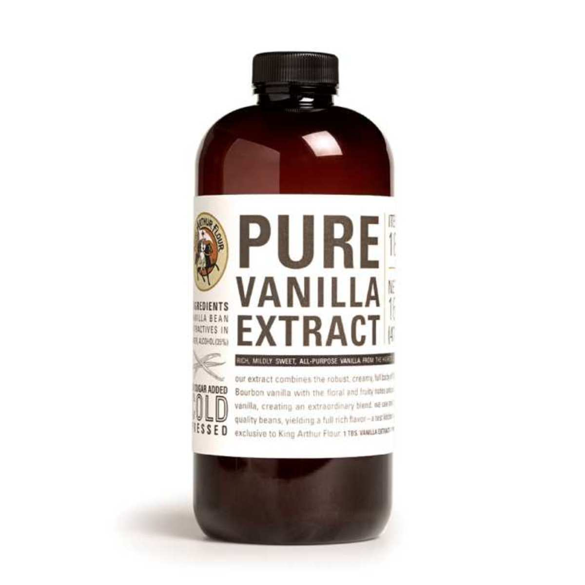 Why do you add vanilla extract last?
