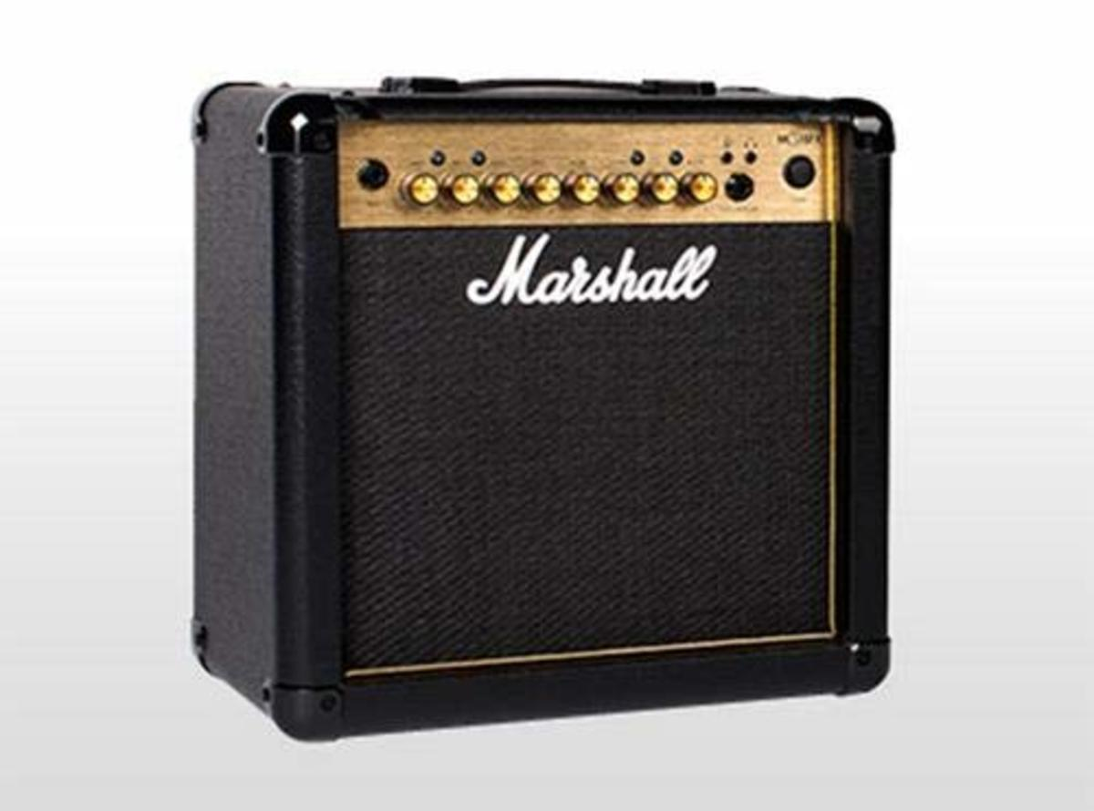 The Marshall MG Gold Series amps offer great sound and features in an affordable package.