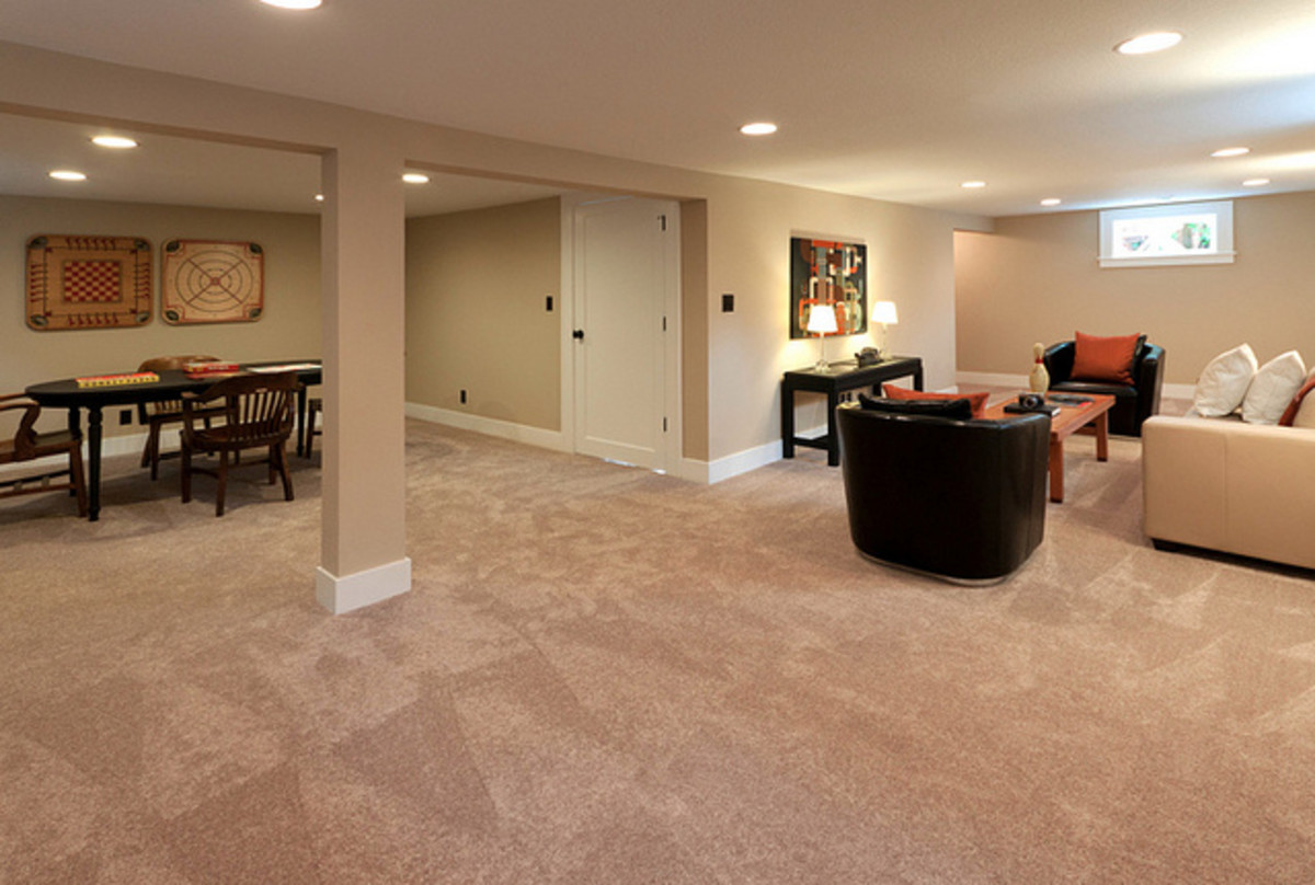 How To Get Rid Of Musty Basement Smells Dengarden - Best flooring for cold basement