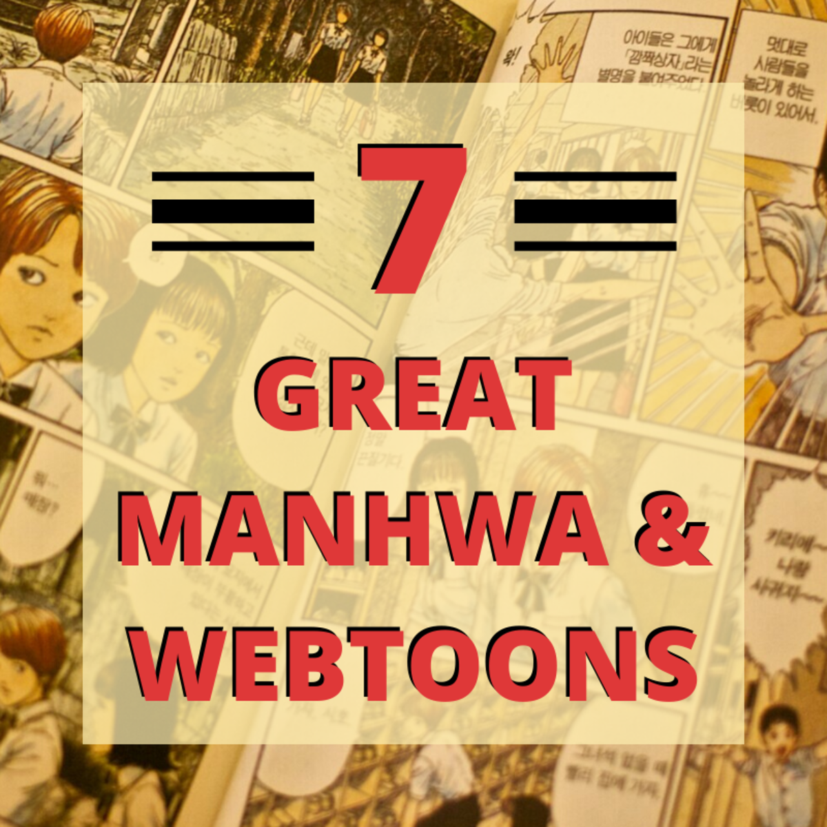 Top Manhwa and Webtoons: 7 Korean Comics to Check Out