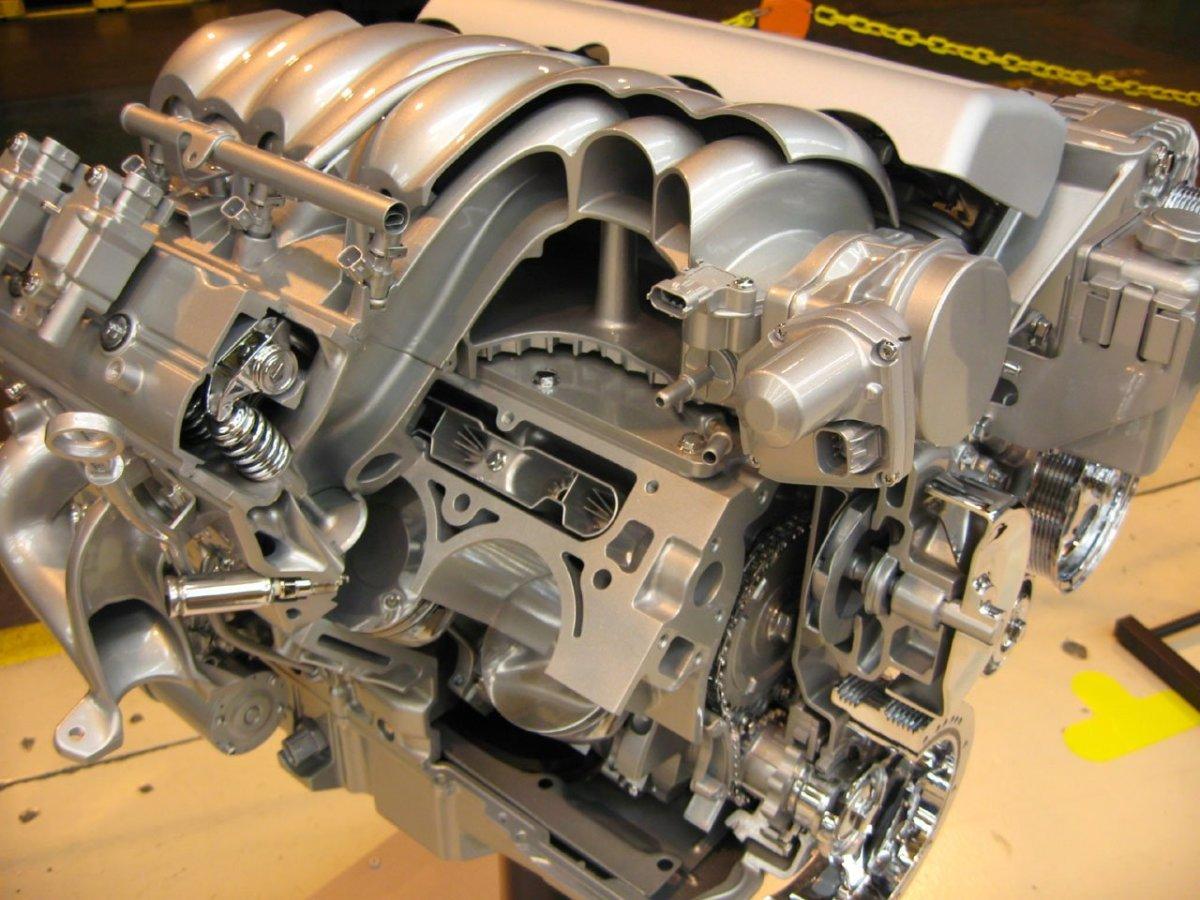 F on Overhead Valve Engine Design