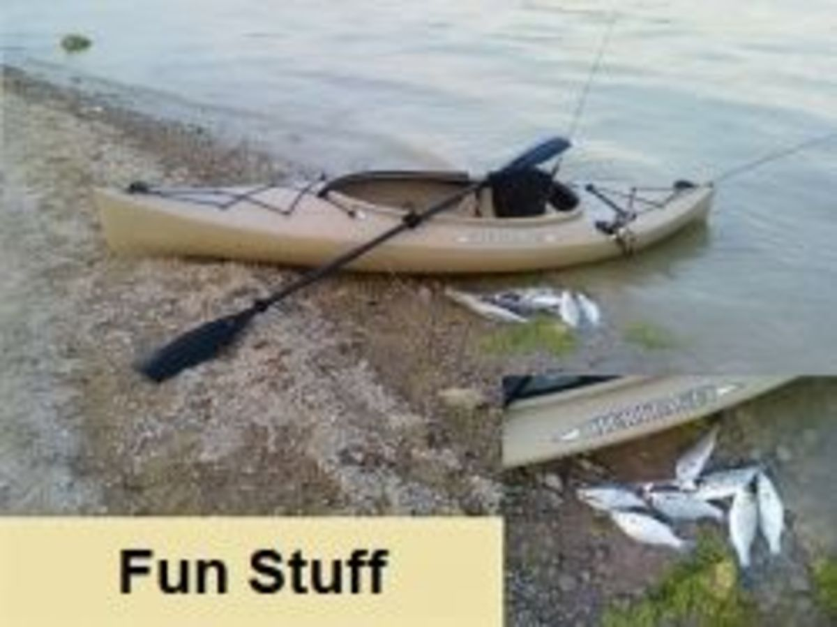 Kayak Fishing - Tips for Trolling