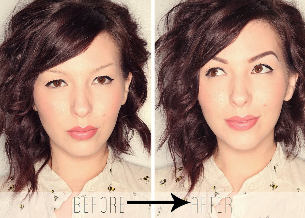 3 Steps to Perfect Eyebrows: Long-Lasting,  Waterproof Color