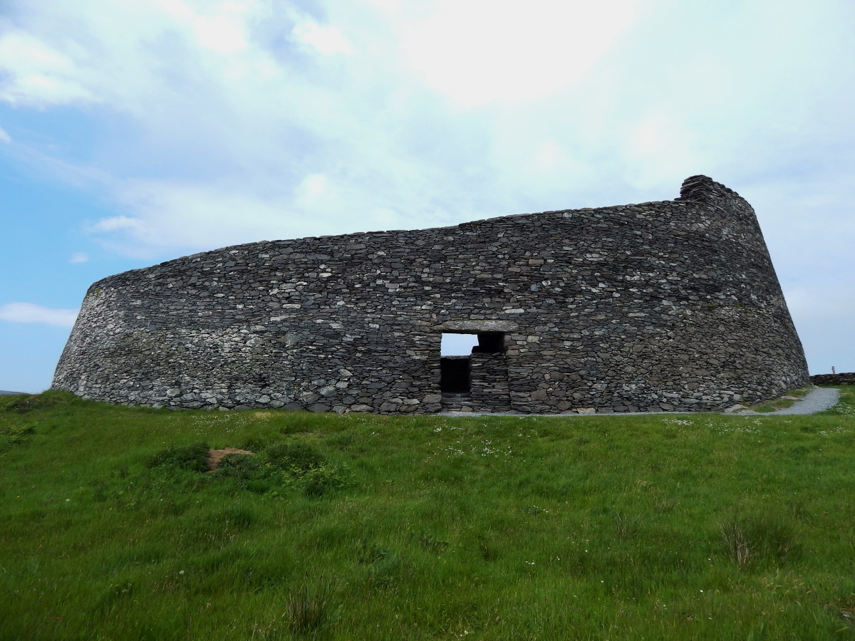 Cahergall Stone Fort, Co. Kerry, Ireland