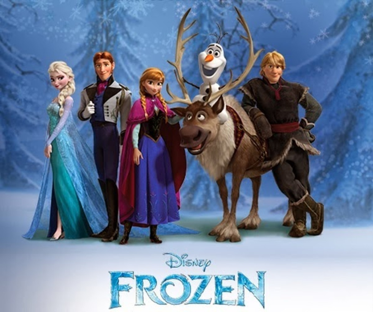 Elsa, Prince Hans, Anna, Kristoff; Frozen, 2013.