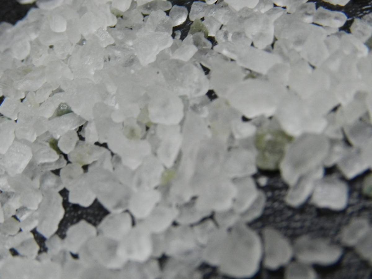 Salts in fertilizers can damage plants