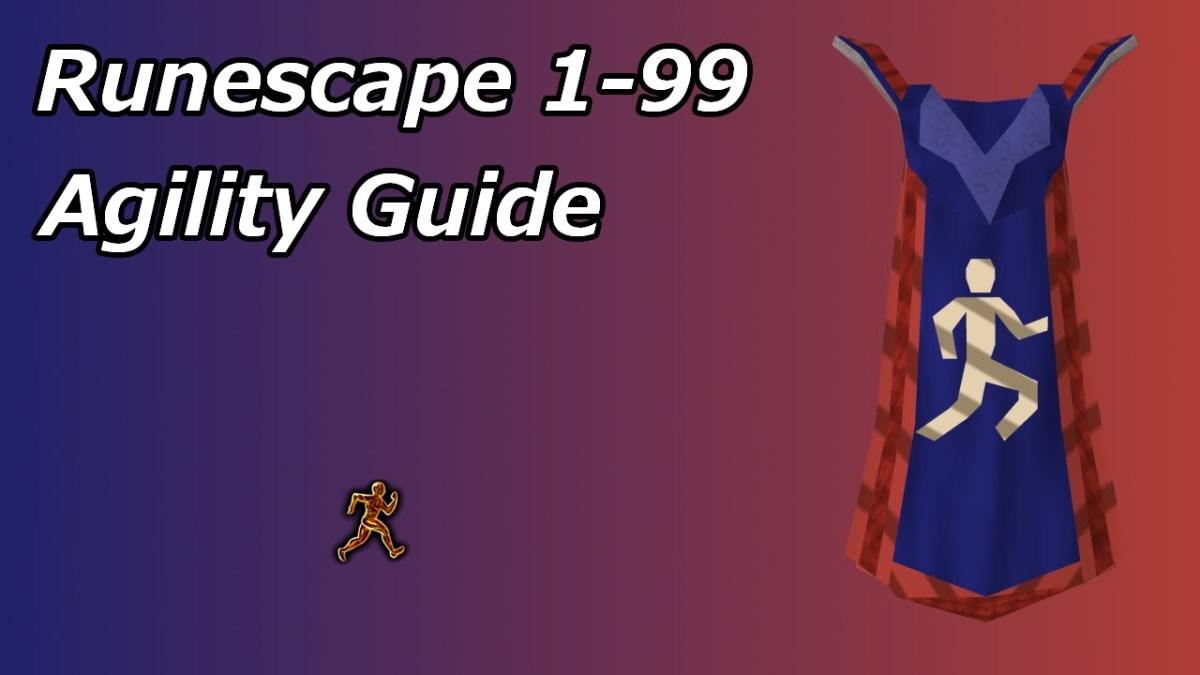 Runescape 3 1 99 P2P Agility Training Guide 2019