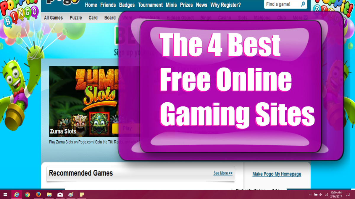 There are plenty of places online to play games, but what are the BEST FREE online games? Here is a list of some high-quality free gaming for you.  hubpages.com/@simplehappylife