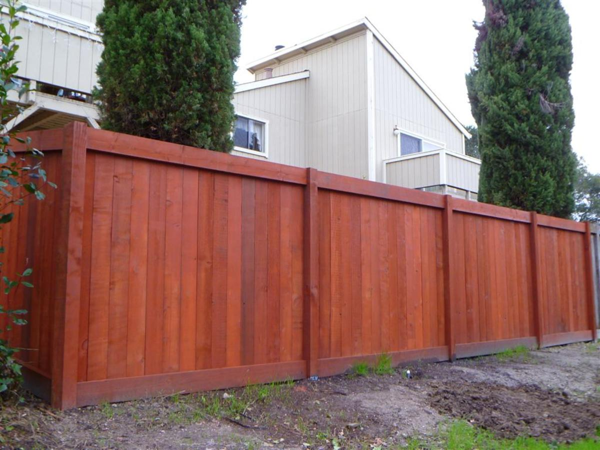 Tips For Lying Stain To A Wood Fence Dengarden