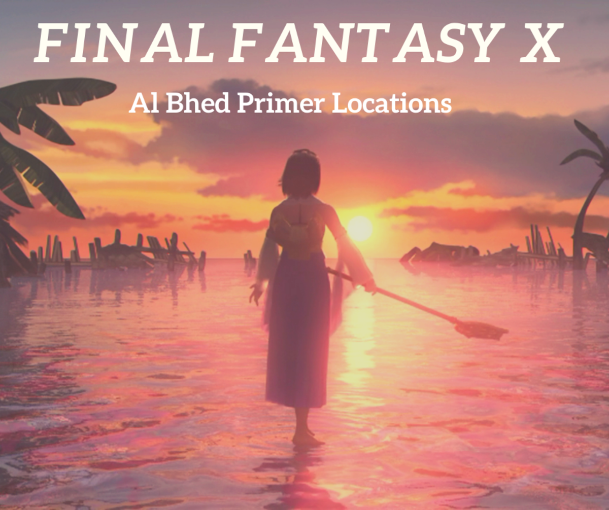 "This guide contains all of the Al Bhed locations in ""FFX"" so you won't have to worry about missing one!"