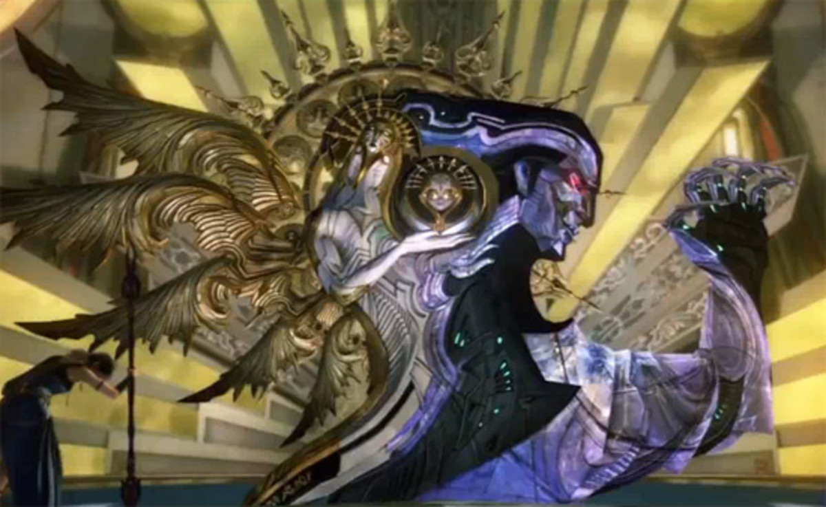 Every time I think a Final Fantasy endgame boss can't get any weirder than a giant superball or a jell-O tick...