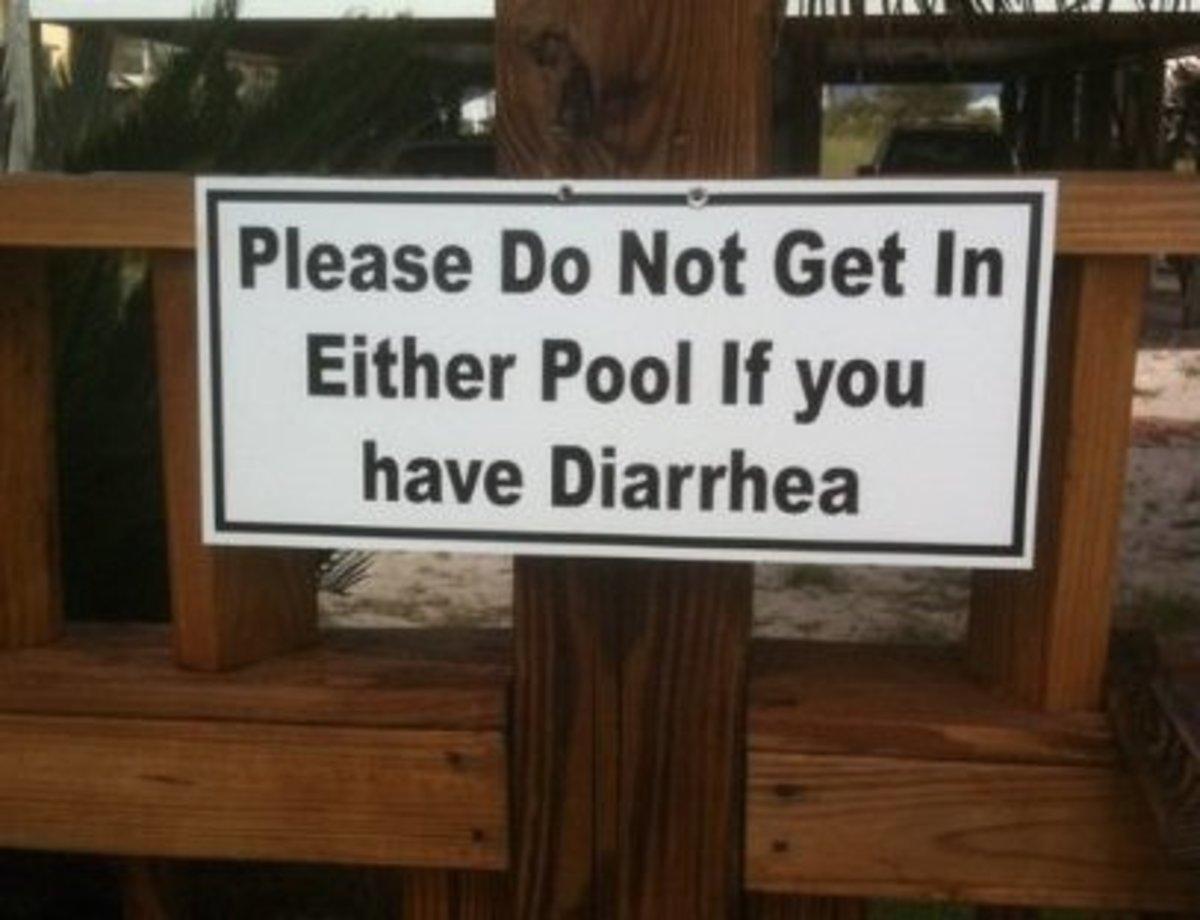 Diarrhea is fun for no one.