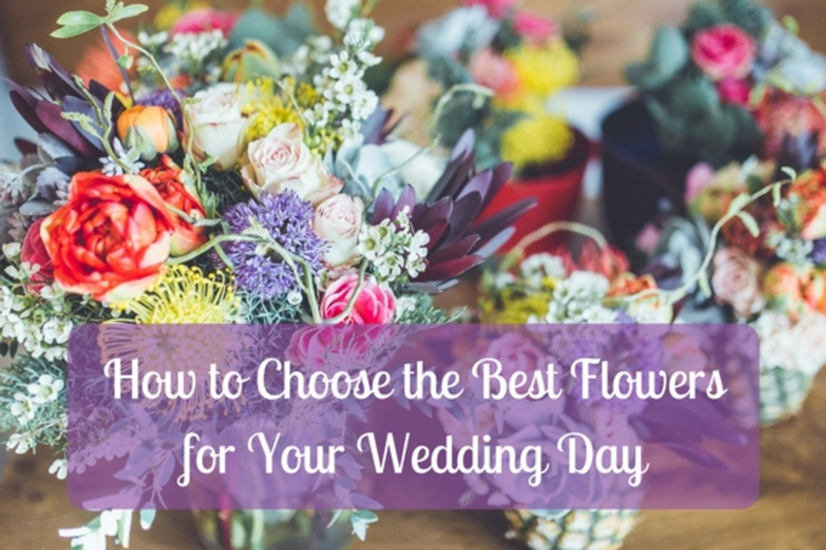 How to Save Money on Wedding Flowers for the Month of Your Nuptials