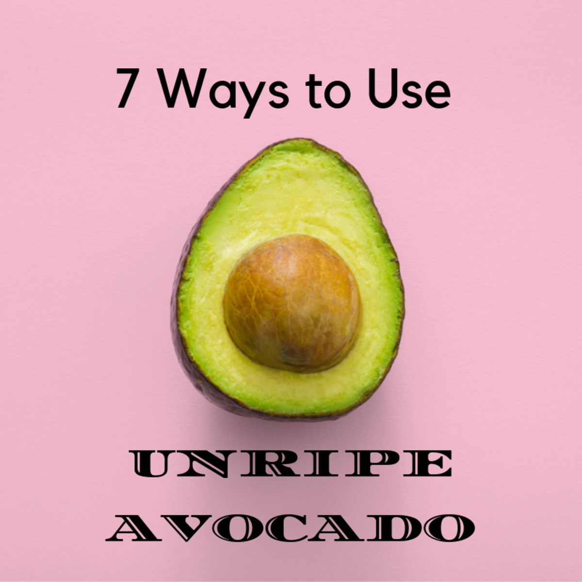 Have you ever thrown away an avocado just because it wasn't ripe?