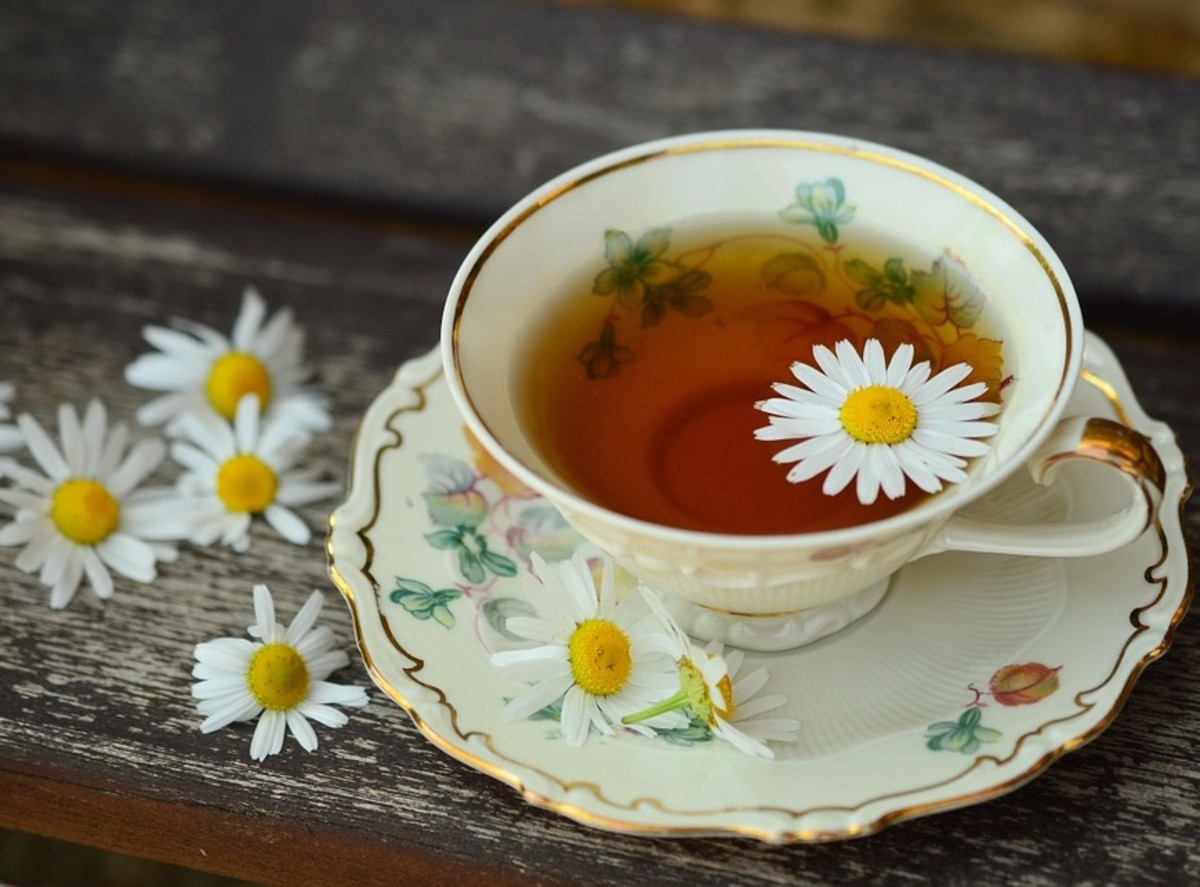 A hot cup of soothing tea can relax tension away.