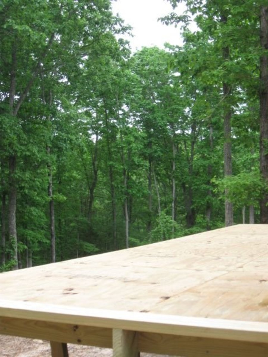 How to Build an Elevated Deck on Uneven Ground