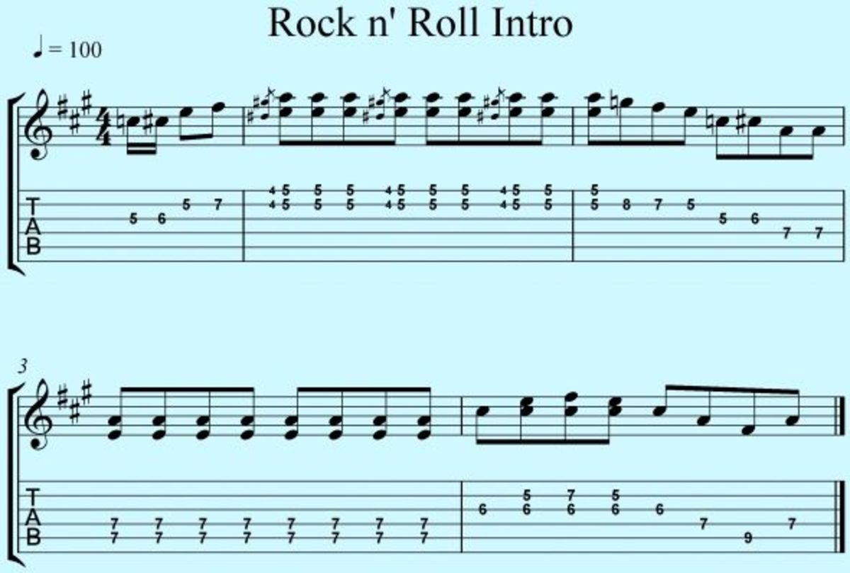 Easy Johnny B. Goode Tabs and Chords