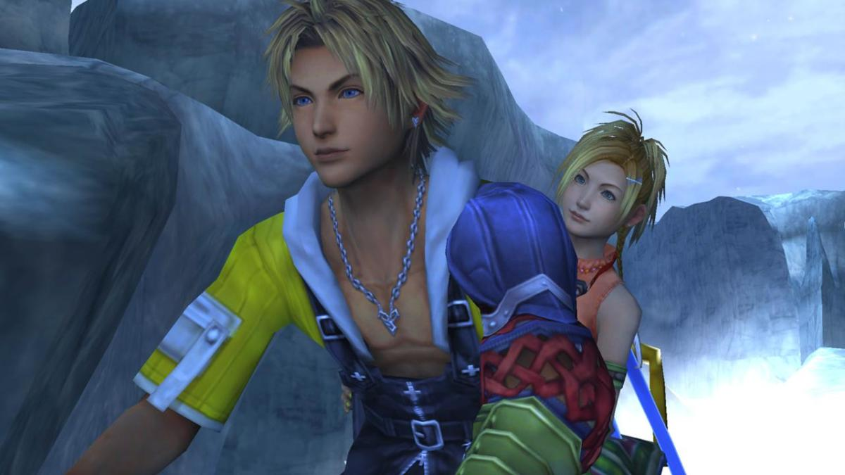 Tidus & Rikku Snowmobile Ride