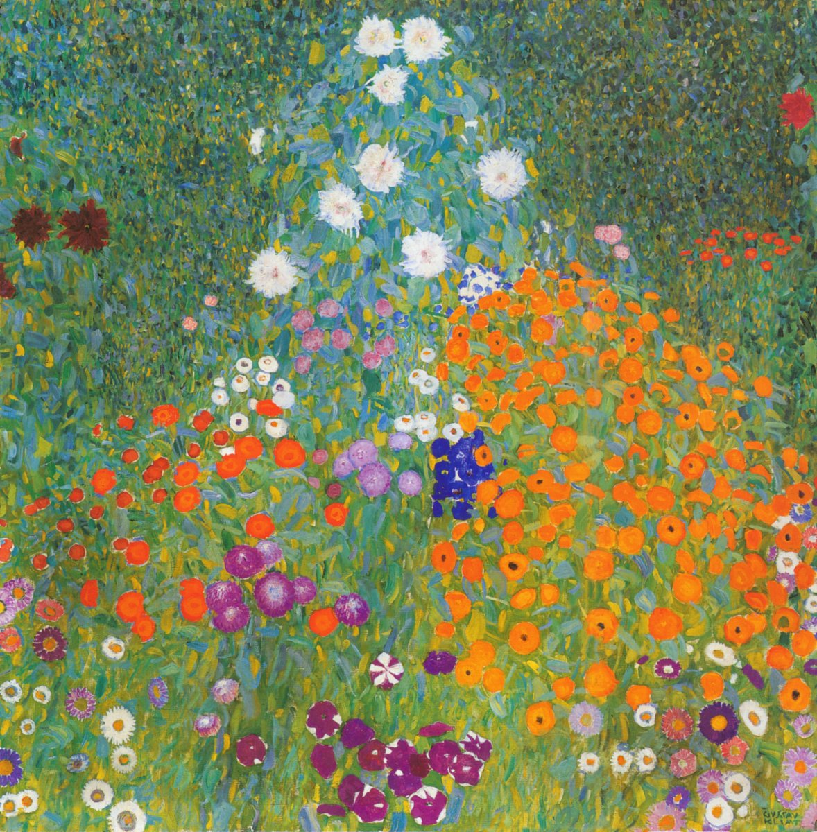 Gustav Klimt's landscape, Bauerngarten (1907), sold for $59.3 million.