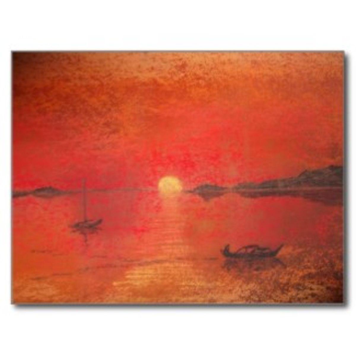 A Spanish Sunset