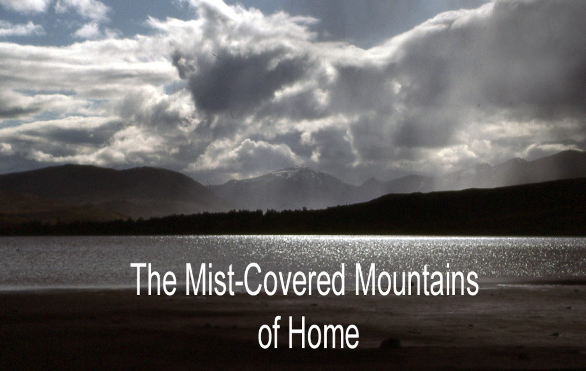 The Mist-Covered Mountains of Home: Fingerstyle Guitar Tab, Notation and Audio