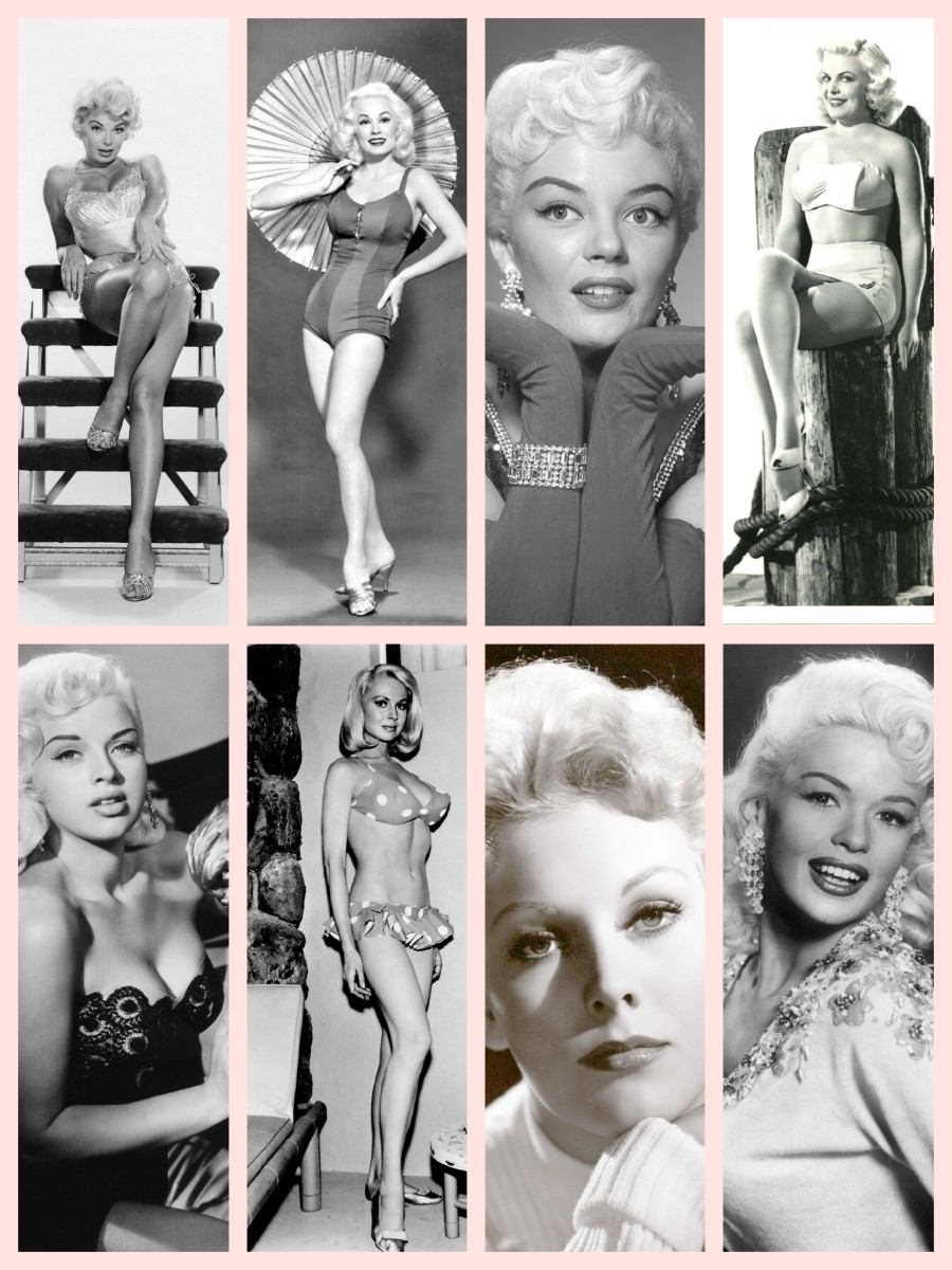 1950s Classic Hollywood Blonde Bombshells