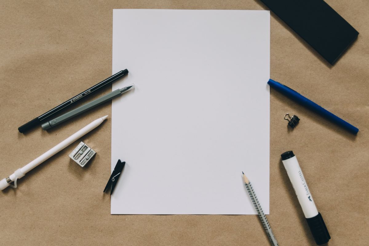 Start by drafting your ideas on a template.