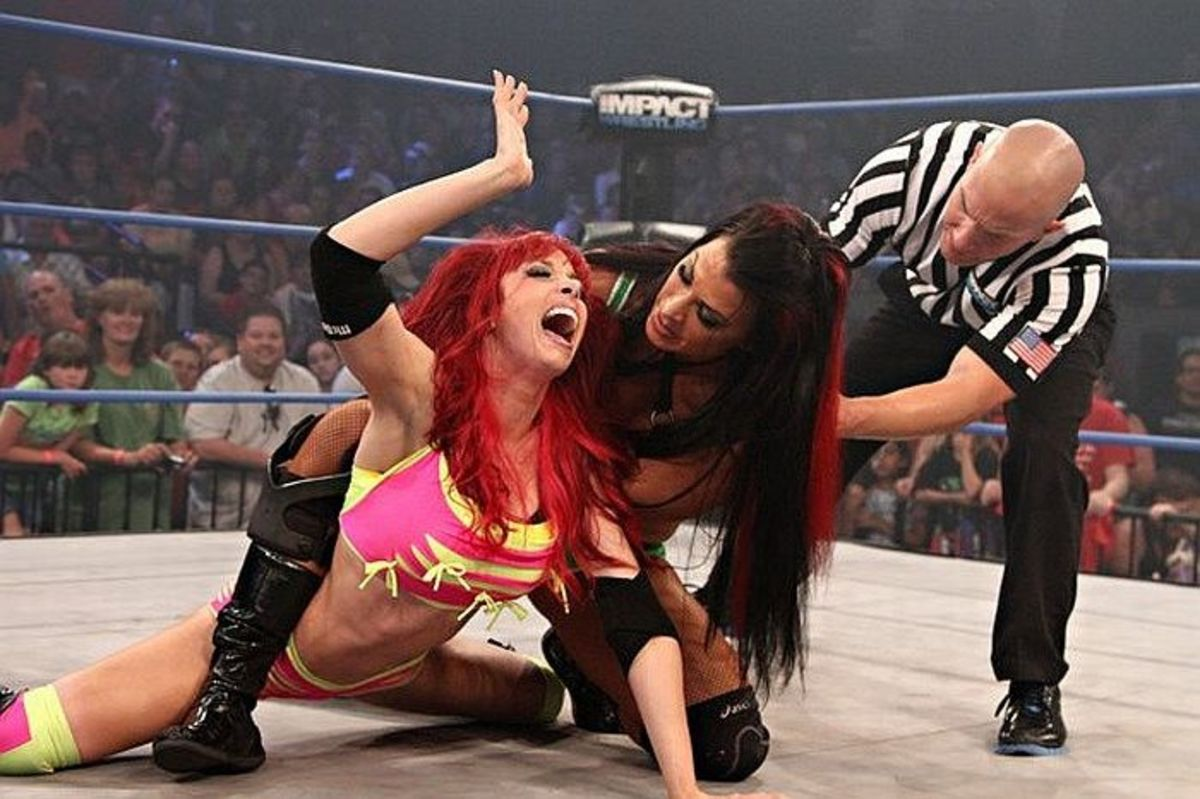 The TNA Knockouts-The Women of Impact Wrestling