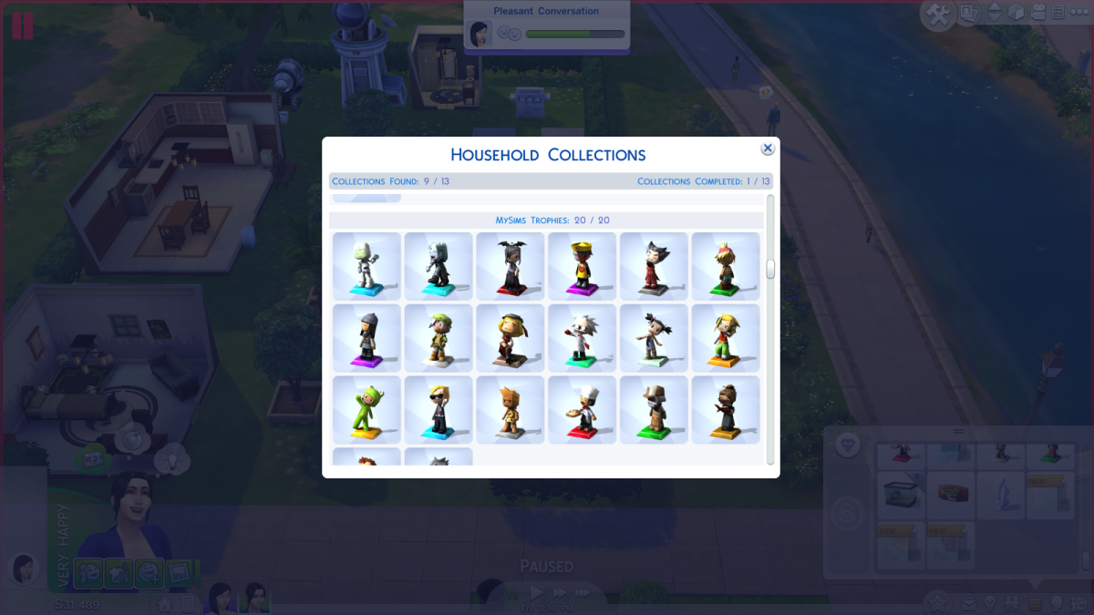 The Sims 4 Walkthrough: Collecting Guide