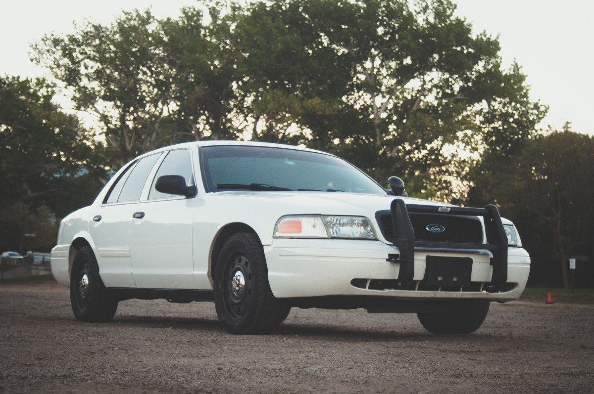Crown Victoria Police Car For Sale