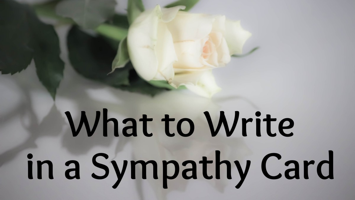 80 Original Ideas for What to Write in a Sympathy Card