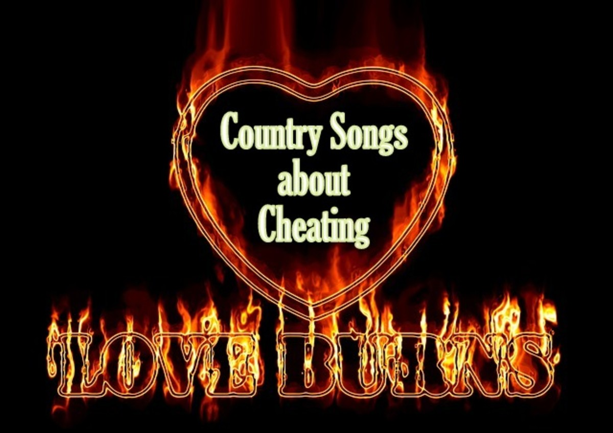 4 Popular Country Songs about Cheating