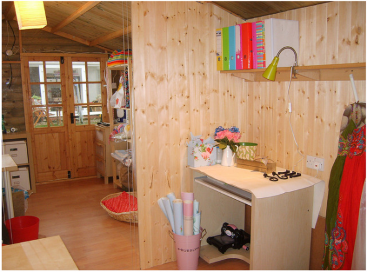 Photos Of The Coolest Sheds | Free Shedworking Plans & Ideas