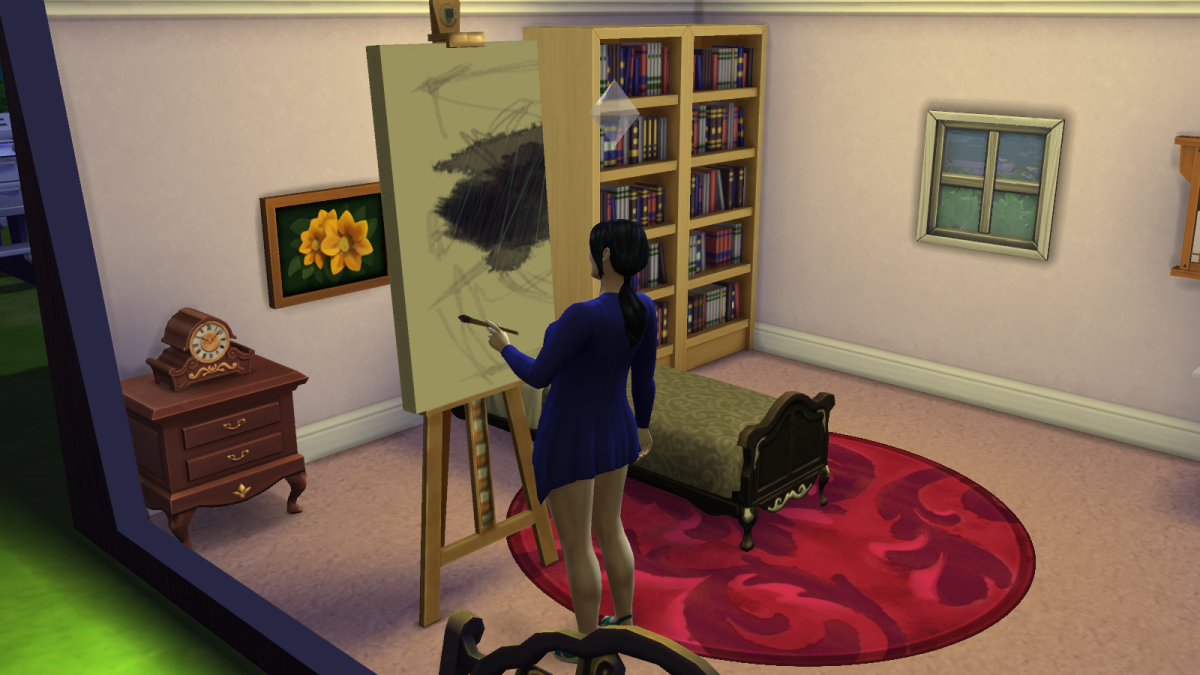 """""""The Sims 4"""" is copyrighted by Electronic Arts Inc. Images used for educational purposes only."""