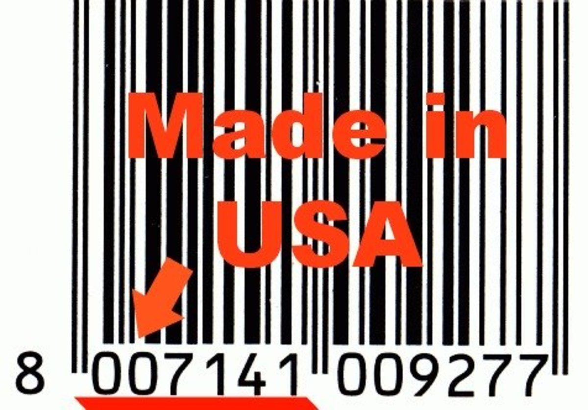Watch the bar code to verify that made a product is made in the USA—the first digit must be a zero.
