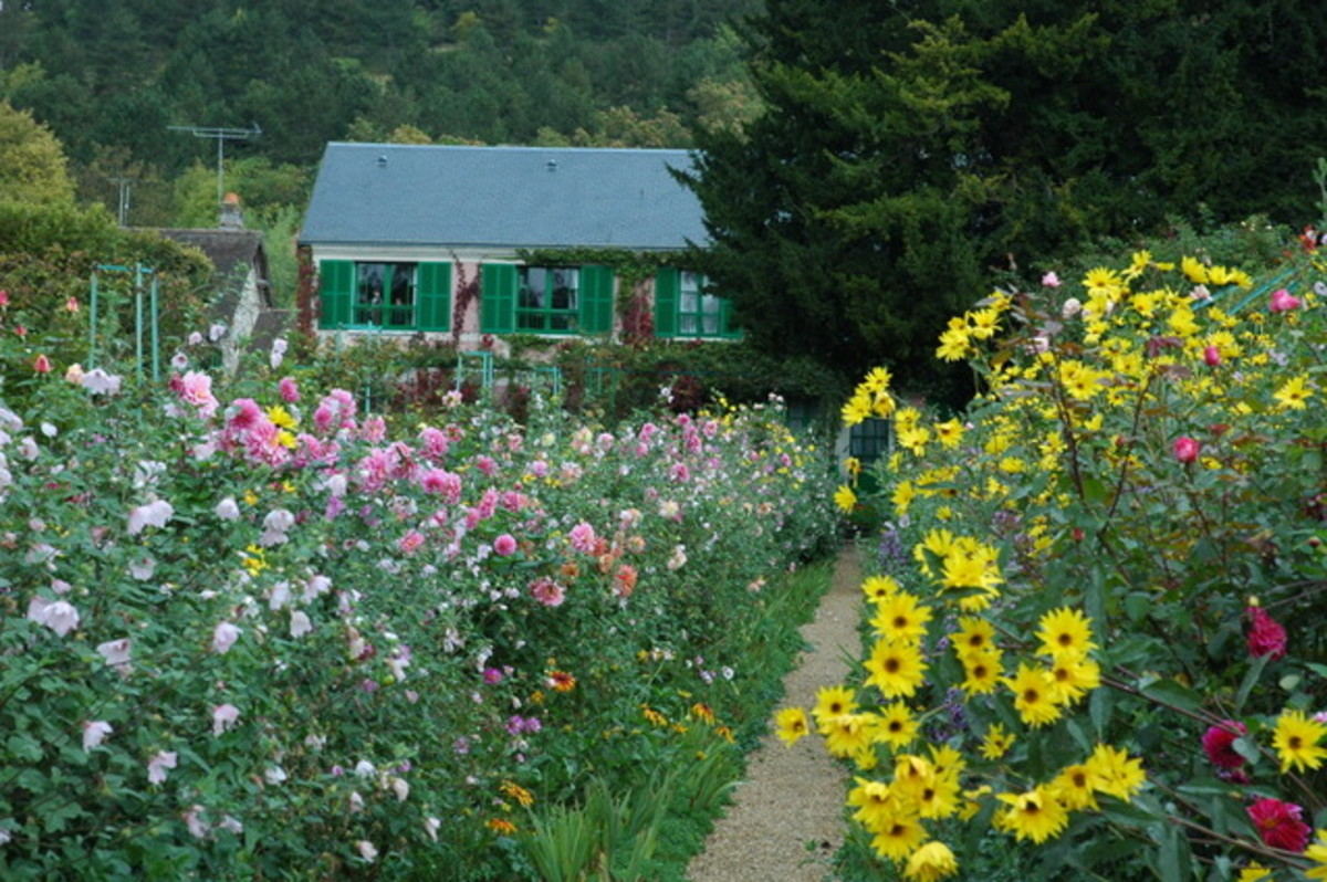 One of the most famous of this style is Monet's Giverny property, which is open to visit in France.