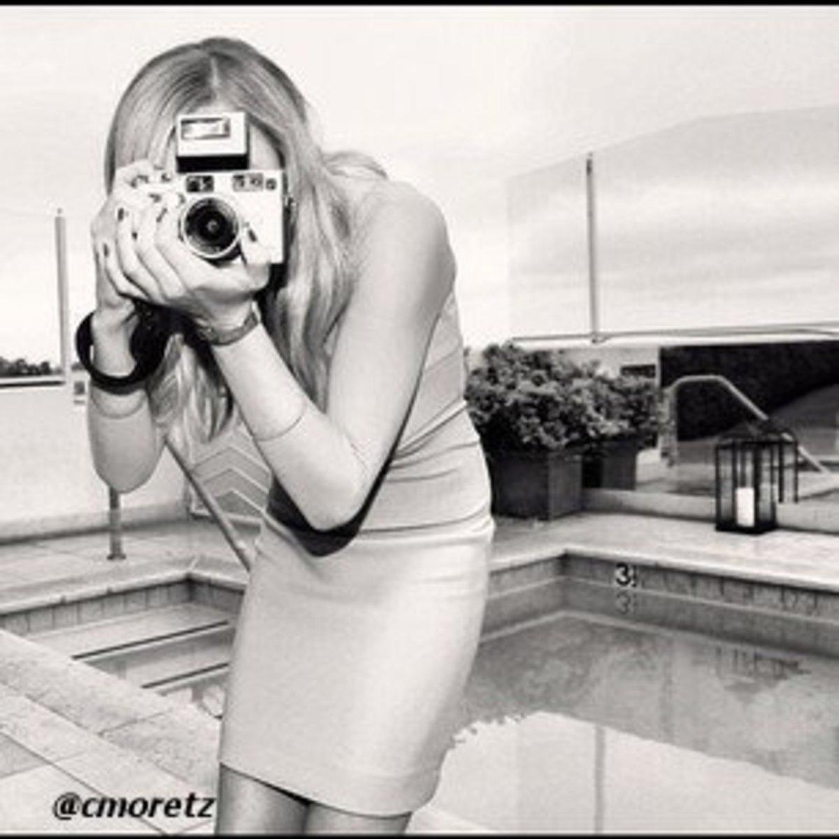 Cool artsy shot by Chloe Moretz
