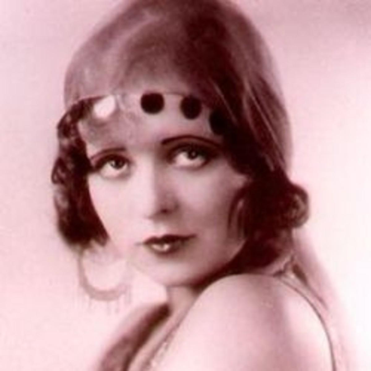 The lovely Clara Bow